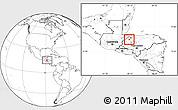 Blank Location Map of Petoa