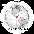 Outline Map of San Pedro Zacapa