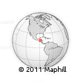 Outline Map of Trinidad