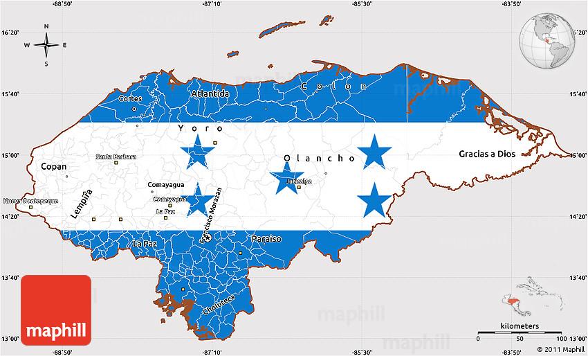 Flag Simple Map of Honduras on caribbean map, elsalvador map, central america, china map, republica dominicana map, costa rica, england map, peru map, afghanistan map, black sea map, haiti map, dominican republic, columbia map, iraq map, mexico map, kazakhstan map, hungary map, espana map, germany map, chile map, el salvador, cuba map, panama map, jamaica map,