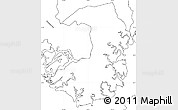Blank Simple Map of Alianza