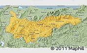 Savanna Style 3D Map of Yoro