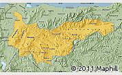 Savanna Style Map of Yoro