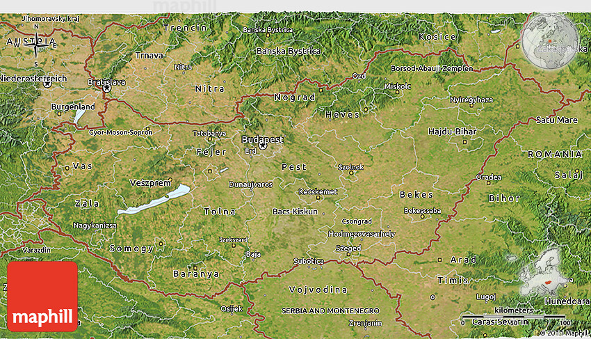 Satellite 3D Map of Hungary on debrecen hungary map, sopron hungary map, kecskemet hungary map, szeged hungary map, budapest hungary map, pecs hungary map, ajka hungary map, bekescsaba hungary map, bratislava hungary map, vac hungary map, gyor hungary map, erd hungary map, papa hungary map, gyula hungary map, kaposvar hungary map, nyiregyhaza hungary map, pest hungary map, hungary on world map, magyar hungary map,
