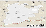 Classic Style Panoramic Map of Bács-Kiskun