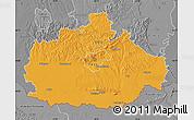 Political Map of Baranya, desaturated