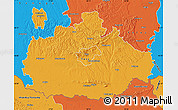 Political Map of Baranya