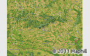 Satellite Map of Baranya