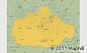 Savanna Style Map of Baranya