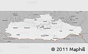 Gray Panoramic Map of Baranya