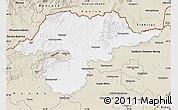 Classic Style Map of Borsod-Abaúji-Zemplén