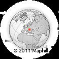 Outline Map of Borsod-Abaúji-Zemplén