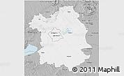 Gray 3D Map of Fejér