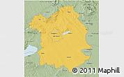 Savanna Style 3D Map of Fejér