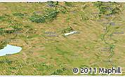 Satellite Panoramic Map of Fejér
