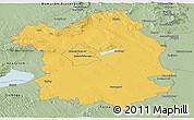 Savanna Style Panoramic Map of Fejér