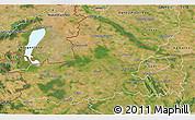 Satellite 3D Map of Györ-Moson-Sopron