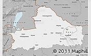 Gray Map of Györ-Moson-Sopron