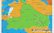 Political Map of Györ-Moson-Sopron