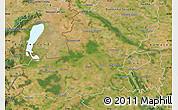Satellite Map of Györ-Moson-Sopron
