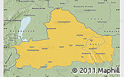 Savanna Style Map of Györ-Moson-Sopron