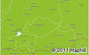 Physical 3D Map of Hódmezovásárhely