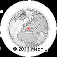 Outline Map of Hódmezovásárhely