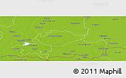 Physical Panoramic Map of Hódmezovásárhely