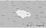 Gray 3D Map of Kecskemét