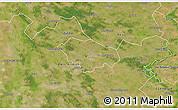 Satellite 3D Map of Kecskemét