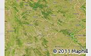 Satellite Map of Kecskemét