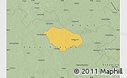 Savanna Style Map of Kecskemét