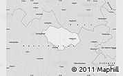 Silver Style Map of Kecskemét