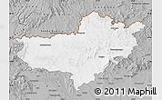 Gray Map of Nógrád