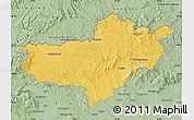 Savanna Style Map of Nógrád