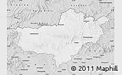 Silver Style Map of Nógrád