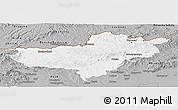 Gray Panoramic Map of Nógrád