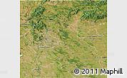 Satellite 3D Map of Pest