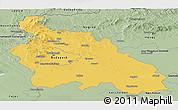Savanna Style Panoramic Map of Pest