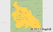Savanna Style Simple Map of Pest