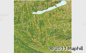 Satellite 3D Map of Somogy