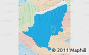 Political Map of Somogy, lighten