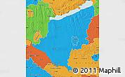 Political Map of Somogy