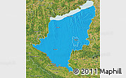 Political Map of Somogy, satellite outside