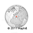 Outline Map of Somogy