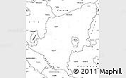 Blank Simple Map of Somogy