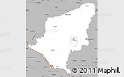 Gray Simple Map of Somogy