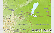 Physical Map of Sopron
