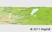 Physical Panoramic Map of Sopron