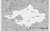 Gray Map of Szalbolcs-Szatmár-Bereg